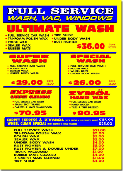 Lowell Car Wash Full Service